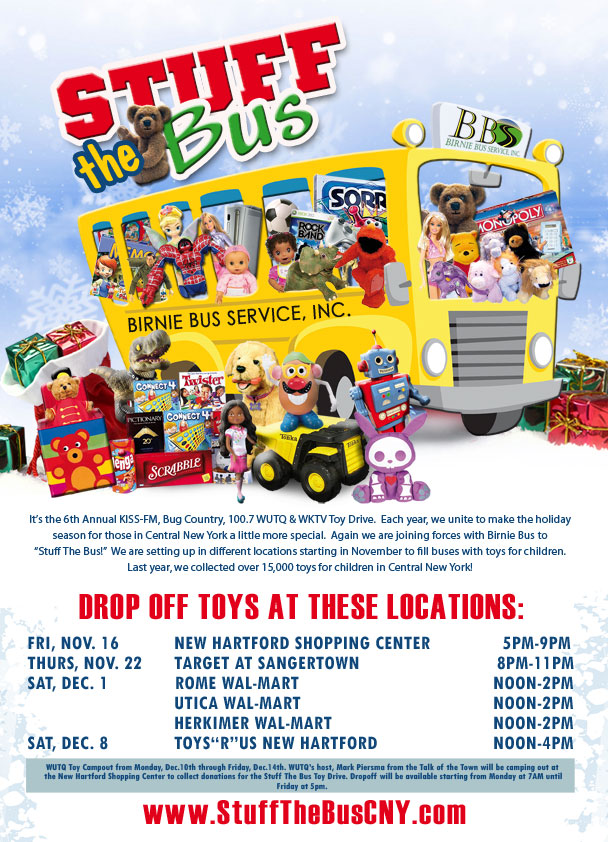 2012 Stuff the Bus Event Poster